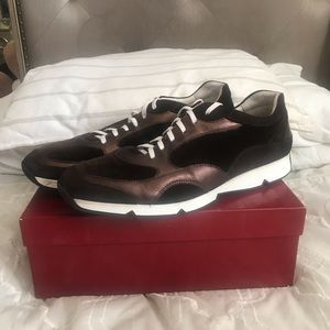 Salvatore Ferragamo Neil Oxford Sneaker